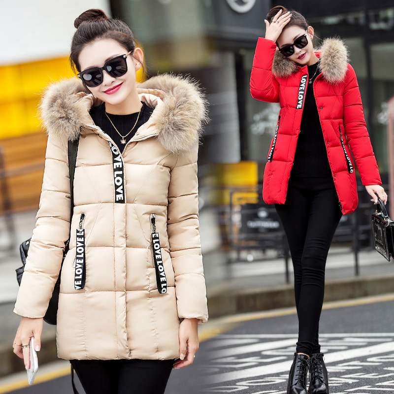 European Winter Womens Down Jacket 2017 Brands Thick Real Raccon Fur Collar White Duck Down Coats Woman Hooded Parka Long A3937Одежда и ак�е��уары<br><br><br>Aliexpress