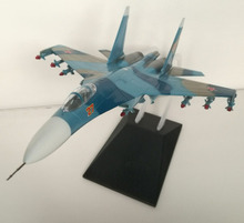 1:72 Static Plane Model Jet Fighter Su27 Flanker Free Shipping(Hong Kong)