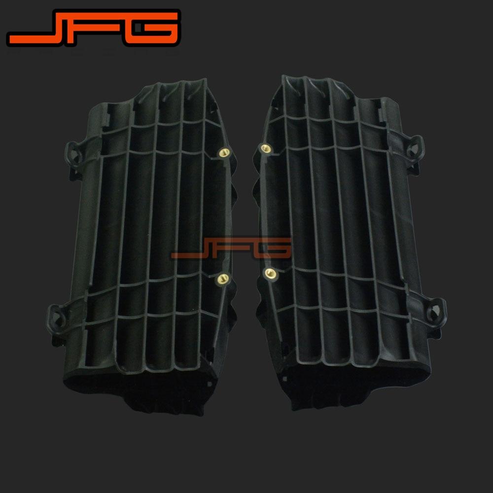 New Black Plastic Radiator Guard Protector For KTM SX125 SX150 SX-F250 SXF350 SX-F450 XC-F250 XCF350 XC-F450 2016 Motorcycle<br>