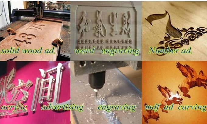 3. CNC Router engraving machine (2)