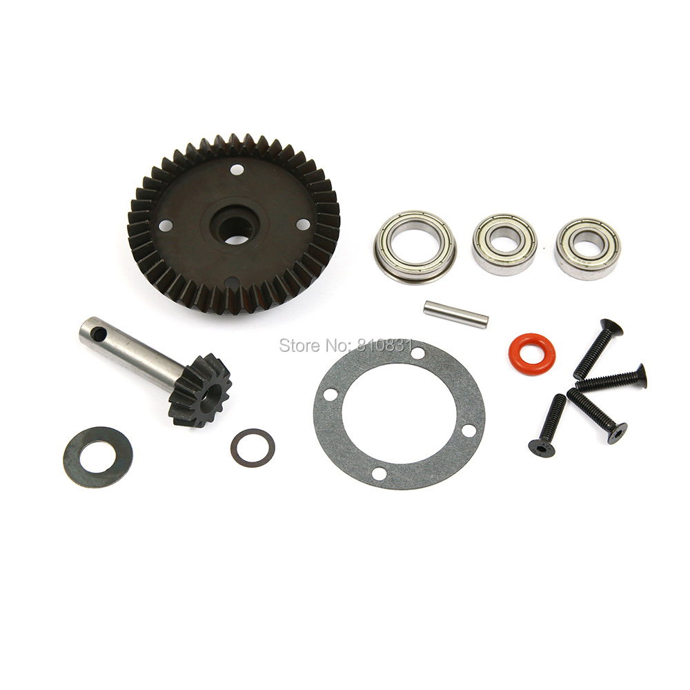 1/5 rc car Metal front reduction gear set fit losi 5ive hpi rovan LT DDT toy parts free shipping<br><br>Aliexpress