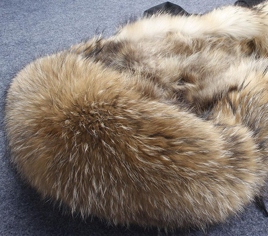Hooded Fur parka (14)