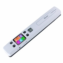 Handheld Portable Scanner A4 Size Document Scanner 1050DPI JPG/PDF Support 32G TF Card Zero Margin High Speed Mini Scanner