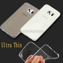 Ultra Clear Crystal Transparent Soft TPU Case Cover For Samsung Galaxy S6 S7 S8 S6edge Edge Plus S7edge s7plus S8plus Silicone