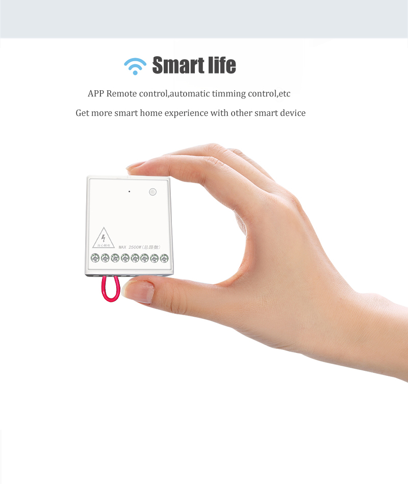 In Stock Xiaomi Mijia Aqara Eigenstone Two-way control module Wireless Relay Controller 2 channels Work For Mijia Home Kit (5)