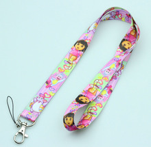 New 20Pcs Popular The girl   Logo Style mobile Phone lanyard Key chain Strap Charm Gift  Free shipping M20