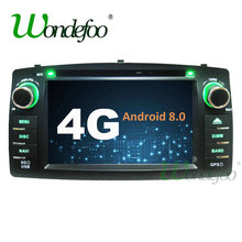Android 8.0 4G / Android 7.1 2G 2 Din Car GPS For Toyota Corolla E120 BYD F3 dvd player Car radio stereo audio touch screen PC(China)