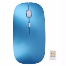 2.4G Receiver 800 / 1200 DPI Adjustable Ultra Thin USB Optical Wireless Mouse For Computer PC Laptop Desktop