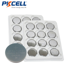 24pcs/lot CR3032 3032 3V BR3032 DL3032 Lithium Button Coin Cell Battery PKCELL
