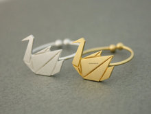 Daisies One Piece  Origami Swan Ring, Cute Animal Ring for Women 2015 Adjustable Rings Anels