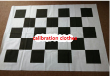 calibration clothes to work for  360 Bird View Panorama System Seamless  4ch driving recorder Non-woven Fabrics checker board