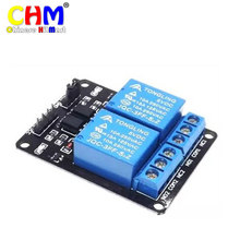 Hobimake 5V 2-channel relay module optocoupler protection relay expansion board arduino relay module #02-a