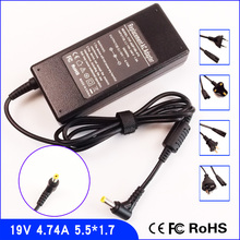 19V 4.74A Laptop Ac Adapter Charger/Power Supply + Cord For Acer Aspire 5560 5600 5601 5602 5610 5612 5613 5620 5630 5650 7110(China)