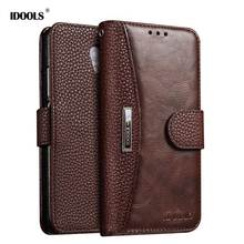 For Meizu M5 Note Case Luxury PU Leather Magnetic Wallet Flip Cover 5.5 inch Mobile Phone Cases For Meizu Meilan Note 5 IDOOLS(China)
