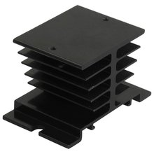 YOC-5psc Aluminum Heat Sink 80mm x 50mm x 50mm for Solid State Relay SSR(China)