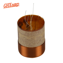 GHXAMP 19 Core BASS Voice coil KSV 8OHM Round copper wire For 4 inch 5 inch Woofer Speaker repairss DIY 1Pairs(China)