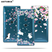 Buy ASTUBIA Case Sony Xperia XZ2 Case Silicone Transparent Flower Cover Sony Xperia XZ2 Compact Case Sony XZ1 Compact for $1.39 in AliExpress store