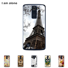 For LG K8 K350N 5.0 inch Cellphone Cover Mobile Phone Protective Skin Color Paint Bag Shipping Free