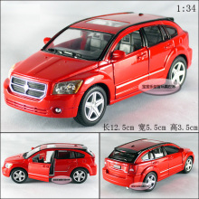Candice guo! New arrival hot sale 1:34 mini Dodge Caliber car alloy model car toy 1pc