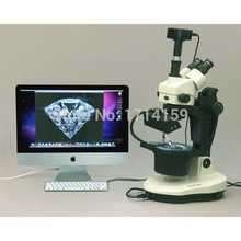design jewlers and gemologists-AmScope Supplies 3.5X-90X Advanced Jewel Gem Microscope + 10MP Camera Win7/8 & Mac OS(China)