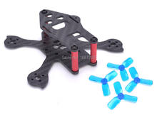 iX2 Tiny 90mm 90 Micro FPV Racing Frame Kit Compatible with 1104 / 1103 Brushless Motor 2030 Propeller for Iflight mini Drone(China)
