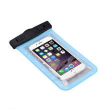 2017 Waterproof Beach Boating Fishing Pouch Cover Case for iPhone under 5.5 inch IOS Android Cell phones Back Coque Capa(China)