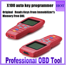 2017 Super Quality Original X100 Auto Key Programmer Handheld Device Promise X100 Pro Hot Selling X-100 Key Programmer DHL Free