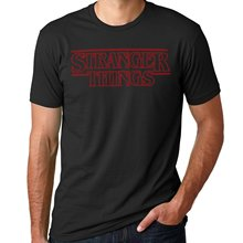 GILDAN Stranger Things Shirt - Stranger Things logo Shirt man t shirt