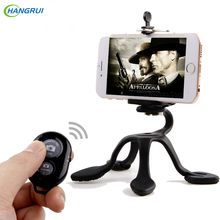 Hangrui Gekkopod Mini Tripod Mount Flexible Stand Holder Multi-function phone Camera Stand+ Bluetooth Remote Control Shutter