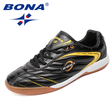 BONA New Arriavle Typical Style Men Soccer Shoes Outdoor Professional Trainer Football Shoes For Male Comfortable Free Shipping