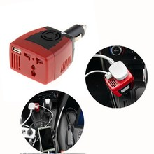 New 1 PCS DC TO AC 150W Main Car Power Inverter Converter Charger for Mobile Laptop VEK02 T50(China)