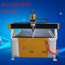 Best price AKG1212 table top cnc cutting machine step motor driver 3 axis cnc milling machine(China)