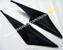 Hot Sales,2 x Carbon Fiber Tank Side Covers Panels Fairing For Honda CBR600RR F5 2005 2006 CBR 600RR 05 06 Tank Side Cover Panel(China)