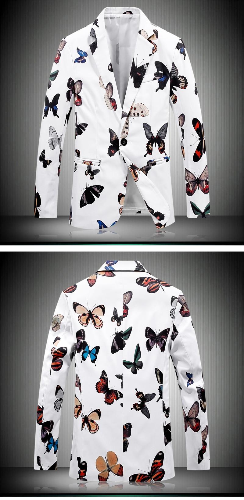 HTB1RY8FQFXXXXbcXpXXq6xXFXXX7 - Men's Floral Blazer Butterfly Printing Suit Jacket Dress Blazer Slim Wedding Veste Homme Mariage Brand-clothing Free Shipping
