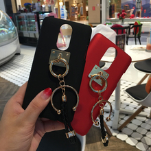 Luxury Pendant Lanyard Decorate Cover Hard Case For Lenovo A7700 A6600 K6 Note ZUK Edge Z2 Pro Z1 P1 K80 X2 Pro K3 VIBE Z2(China)
