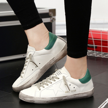 Men Casual Shoes Brand Designer Golden Genuine leather Men Trainers Goose All Sport Star Breathe Shoes Footwear Zapatillas