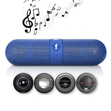Bluetooth Hi-Fi Speaker Portable Music For Wireless Bluetooth speaker with LED MP3 music player AM and FM radio