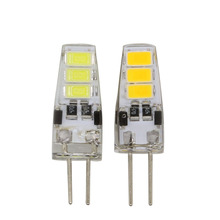1pcs Mini G4 LED Bulb DC 12V 3W SMD 5733 G4 LED Lamp light 360 Beam Angle Light replace Halogen G4 for Crystal Chandelier