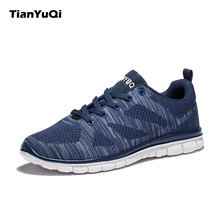 TianYuQi 2017 Men Casual Shoes Breathable Shoes Comfortable Soft Super Light Outdoors Footwear Brand Fashion Leisure Shoes