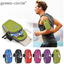 For Rim BlackBerry Classic Q20 Leap Z20 Q10 Z10 Passport Z30 Priv Z 10 20 30 Q Waterproof Nylon Running Bag Sport Arm Band Case