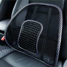 New Car Back Seat Mesh Hollow Breathable Message Seat Cushion Support Cool Summer Car Seat Cover Cushion for Office Home Auto