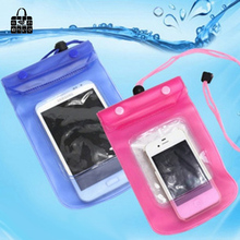 1pcs portable travel 5.5 inch Waterproof Pouch Water Proof Diving storage receive Bags Outdoor Phone Cases Bag Protection cover(China)