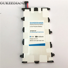 GUKEEDIANZI SP4960C3B 4200mAh Battery For Samsung GALAXY Tab 2 7.0 GT P3100 P3110 P3113 P6200 P6210 Replacement Tablets Battery(China)