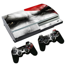 good design wonderful skin for PS3 Fat Console and Two Controller Decals TN-PS3-0220