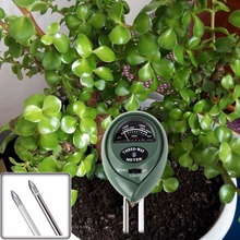 3 In 1 Gardening Agriculture Tester Meter PH Value Moisture Sunlight Intensity(China)