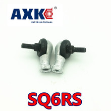 Free shipping 4pcs/lot SQ6 SQ6RS 6mm Ball Joint Rod End Right Hand Tie Rod Ends Bearing SQ6RS