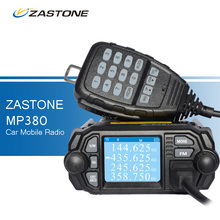 ZASTONE MP380 Mini Car Walkie Talkies 136~174MHz 400~480MHz Two Way Radio Comunicador CB Radio FM Transceiver for Bus Taxie Car