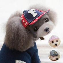 Fashion Flashes Pet Dog Hats Breathable Baseball Dog Caps With Ear Holes Large Dogs Sports Sun Hats Headdress Pet Supplies