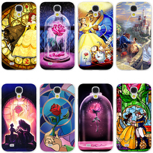 Beauty And The Beast Hard Transparent Cover Case for Galaxy S7 Edge S6 S8 Edge Plus S5 S4 S3 & Mini S2