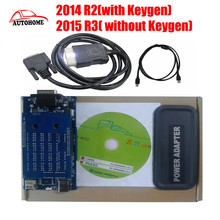 Newest 2014 R2/2015 R3 TCS cdp pro new vci auto scanner cdp pro plus +without Bluetooth with free china post shipping